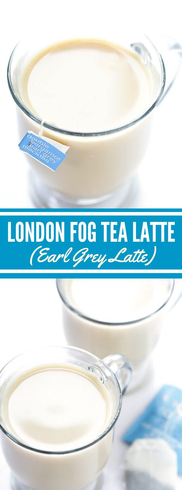LONDON FOG TEA LATTE (EARL GREY LATTE) #drinks #sweets
