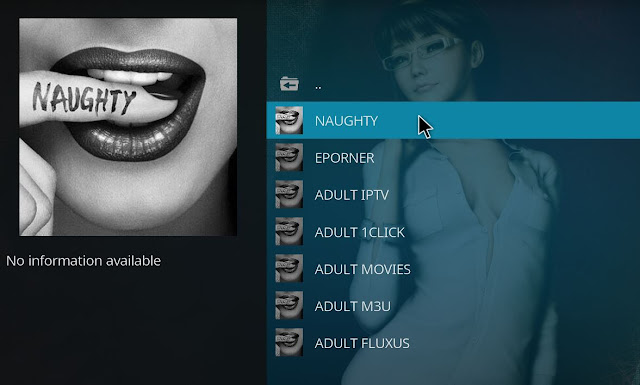 Descarga addon GHOST PORN Kodi