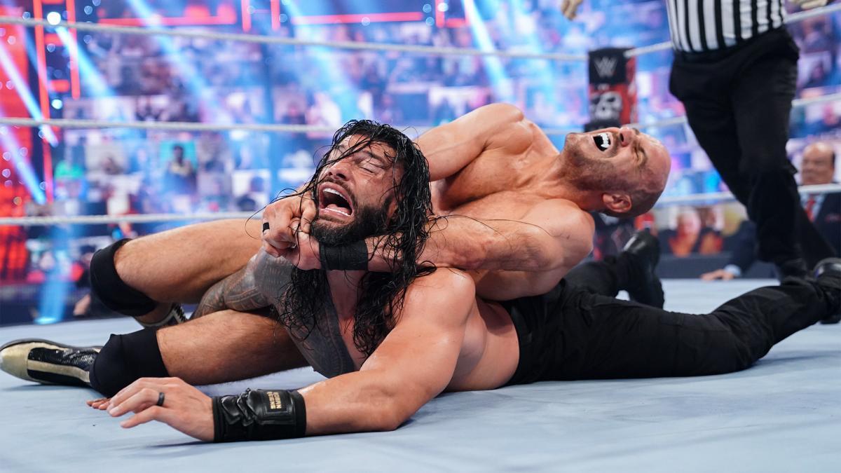 Roman Reigns and Cesaro on WWE WrestleMania Backlash