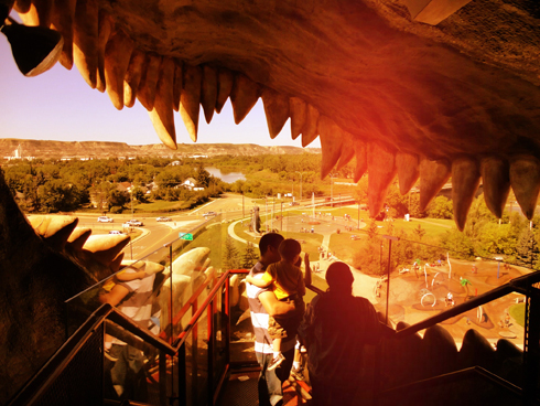 Drumheller Trex Mouth