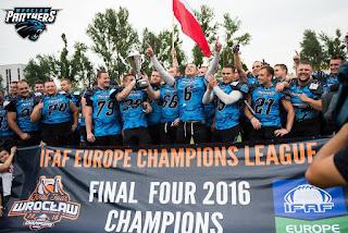 FÚTBOL AMERICANO - IFAF Champions League 2016: Los Wroclaw Panthers dio a Polonia su 1º título europeo