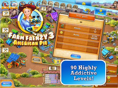 Angak Bari: Farm Frenzy 3: American Pie v1 0 APK+DATA MOD (Unlimited