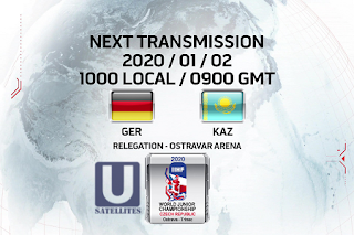 IIHF World Junior Championship Eutelsat 7A/7B Biss Key 2 January 2020