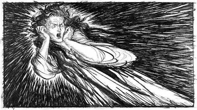 Edmund J. Sullivan 1922, fear and revulsion