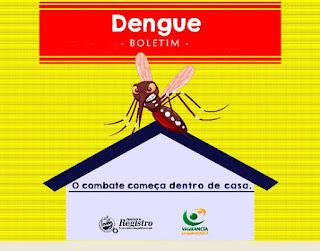 Boletim Epidemiológico de monitoramento da Dengue em Registro-SP