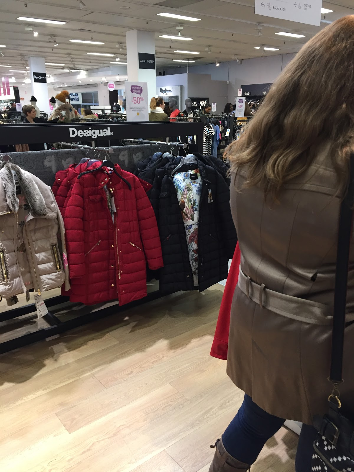 seance shopping galeries lafayette Rosny 2 les petites bulles de ma vie