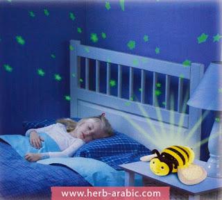 شكل دبدوب النحلة القطني للمولود