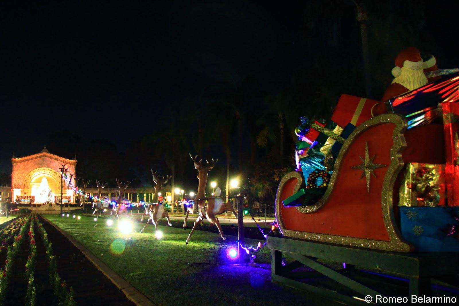 balboa park december nights san diego christmas - Balboa Park Christmas Lights