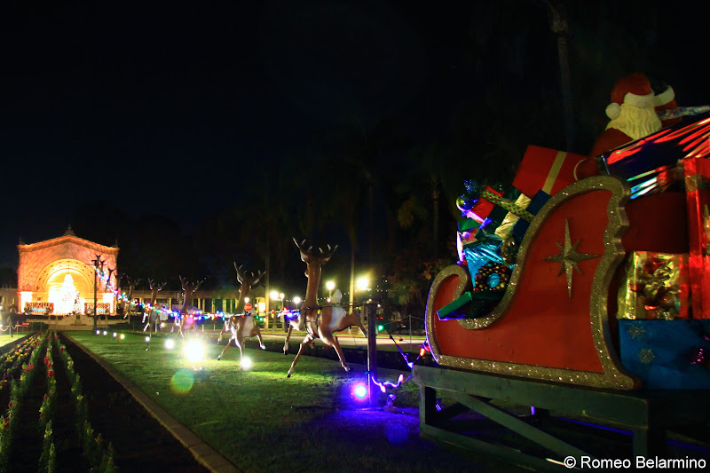 Balboa Park December Nights San Diego Christmas