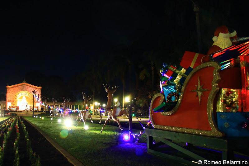 Balboa Park December Nights San Diego Christmas