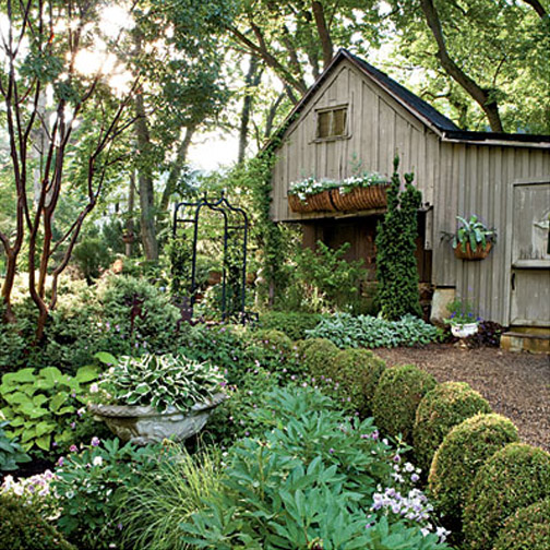 you could do the same on your shed or other outdoor storage building