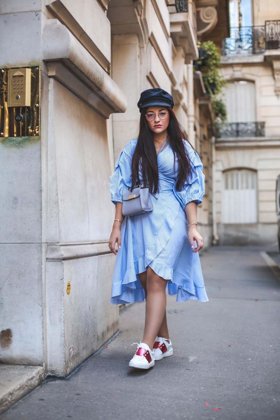 robe cache coeur blog mode