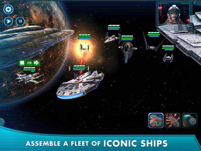 Star Wars Galaxy Of Heroes Mod Apk Gameplay