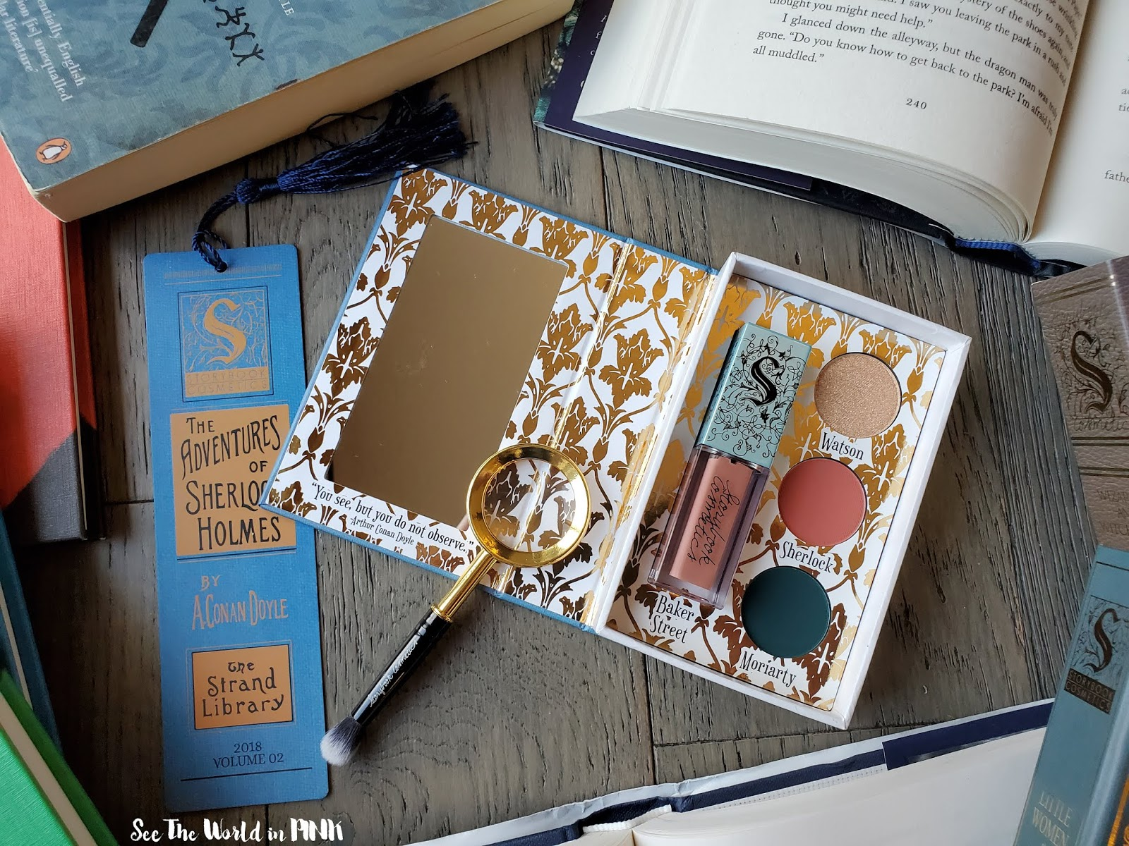 Storybook Cosmetics Book Club Subscription Box - October 2019 Volume 2 Sherlock Holmes