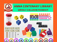 Weekly Children Program - Understanding Number Operations, Fractions and Basic Geometry Using Hands - on Manipulatives - 04.08.2019