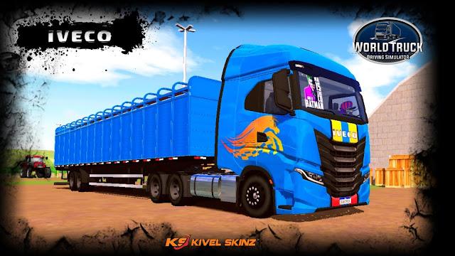 IVECO S-WAY - BLUE GRID BOIADEIRO