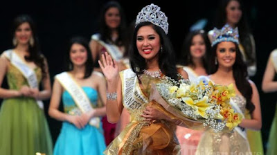 Miss Indonesia 2014 Maria Asteria