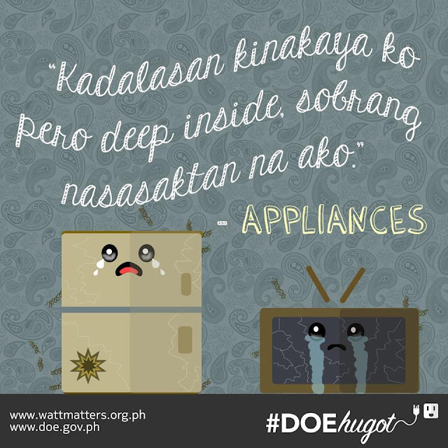 Philippine Department of Energy Hugot Lines Appliances