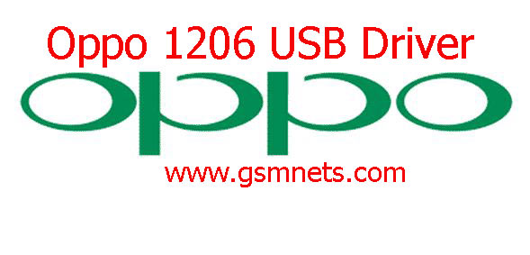 Oppo 1206 USB Driver Download