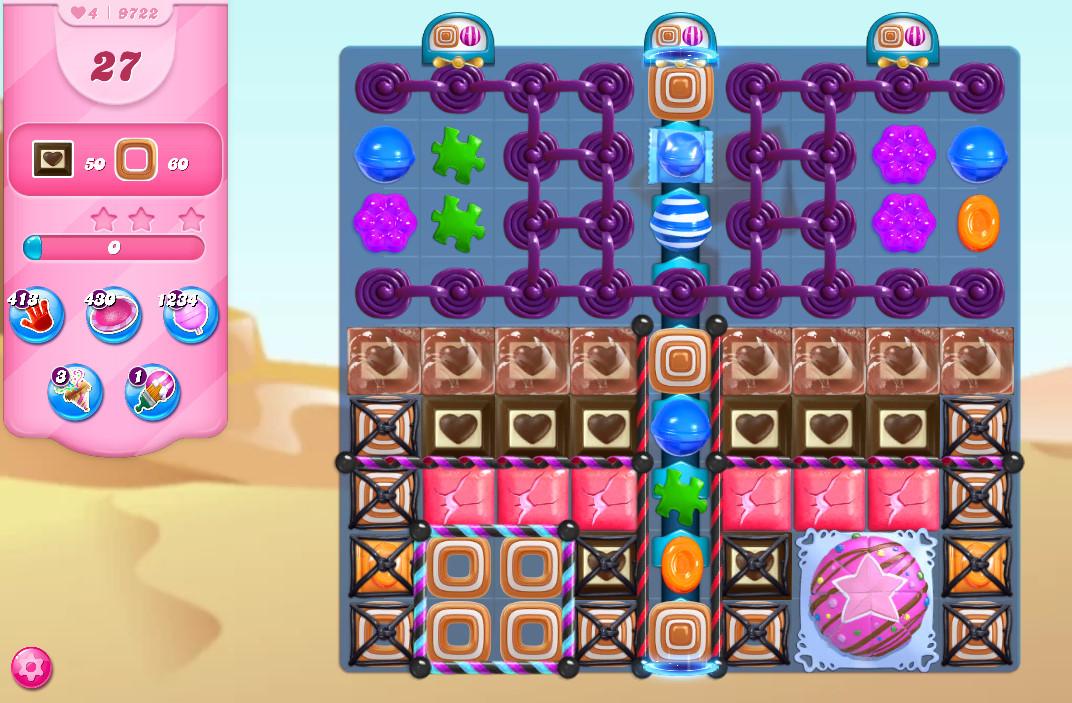 Candy Crush Saga level 9722