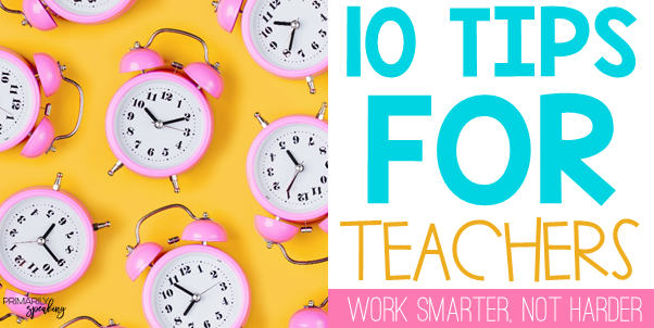 Productivity Efficiency Tips for Teachers