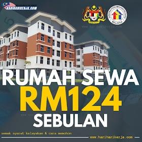 Cara Mohon Rumah Bantuan Kerajaan Kadar Sewa Hanya RM124 Sebulan