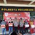 Peduli Covid-19, Polresta Pekanbaru Adakan Bhakti Sosial.