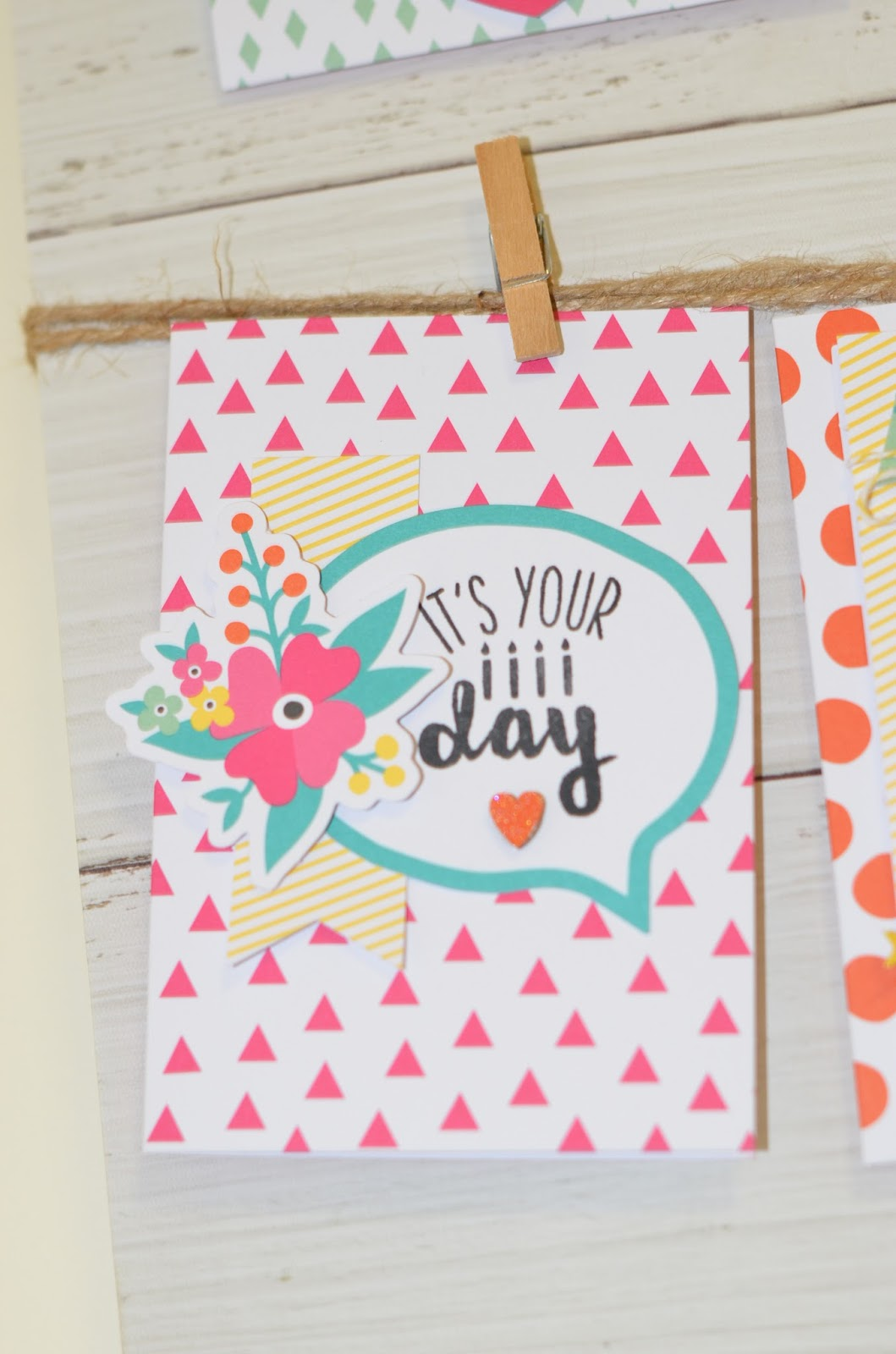Aussie Stampers : Oh Happy Day Card Kit Assembled  Stampin' Up