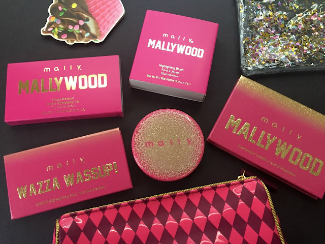 Mally Beauty MALLYWOOD Collection Review & Swatches