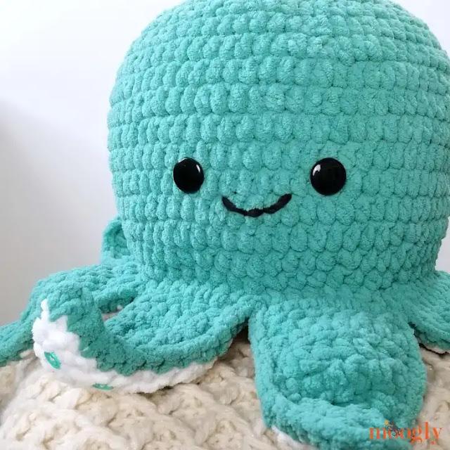 Pulpo Squish a Crochet