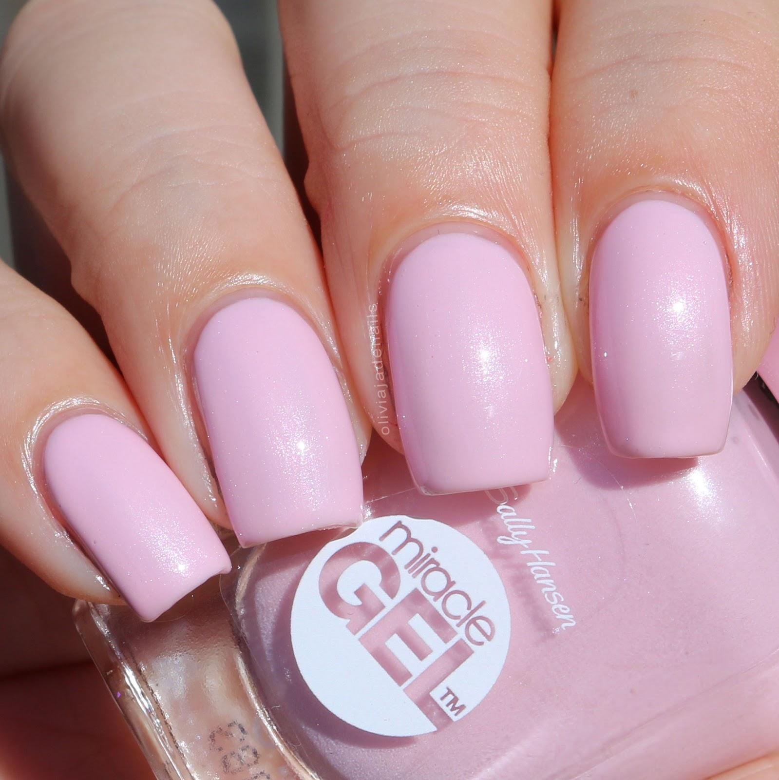 Olivia Jade Nails Sally Hansen Secret Garden Miracle Gel Part