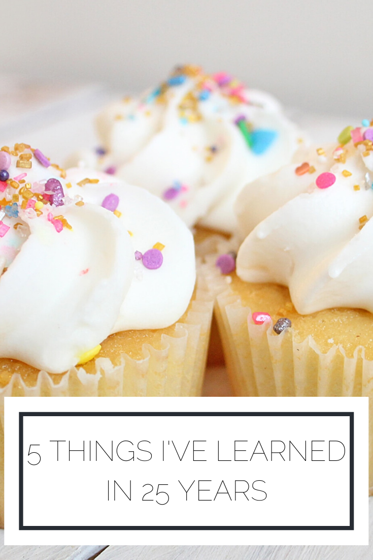 Click to read now or pin to save for later! Check out the 5 things I've learned in 25 years