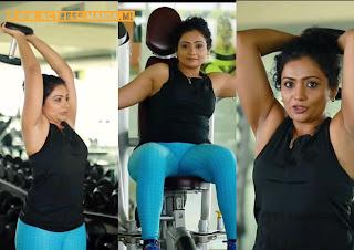 Meera Vasudev Hot Workout Photos