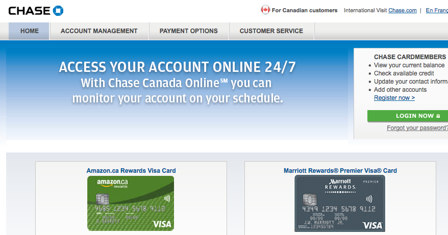 Rewards Canada Chase Marriott And Amazon Visas Come To A