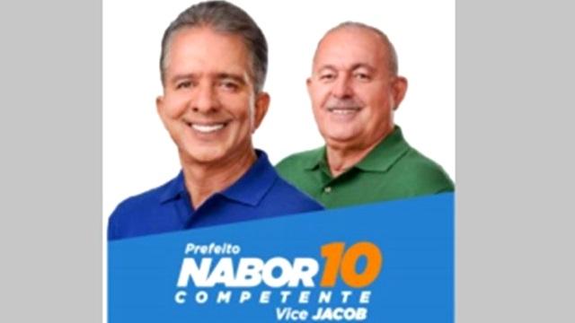 Candidato Nabor divulga sua agenda para a semana. Veja