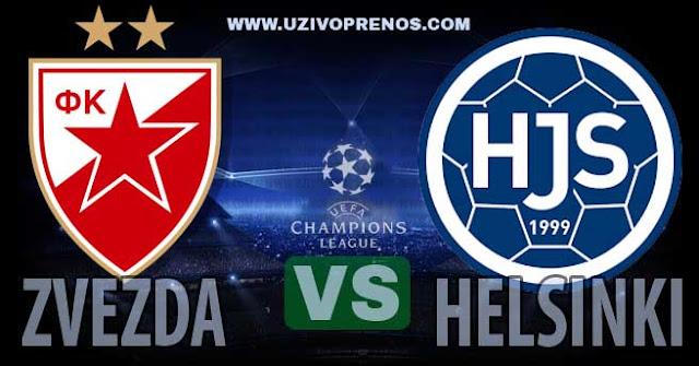 Crvena zvezda - HJS Helsinki uživo prenos