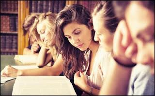 Estudantes de administração