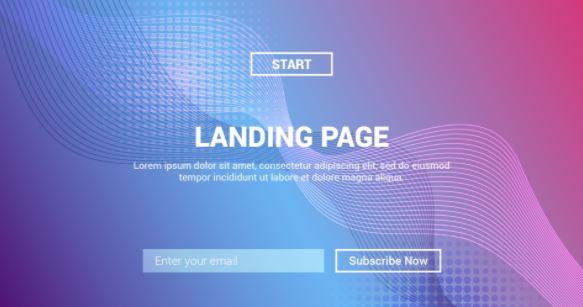 Buat Landing Page