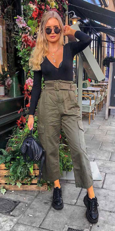 Comfy and casual style is perfect choice for summer season. It's time to share 26 Casual Summer Outfit Ideas You need this moment. Casual Outifts + Summer Style via higiggle.com   paperbag trouser   #summeroutfits #casualoutfits #summer #trouser