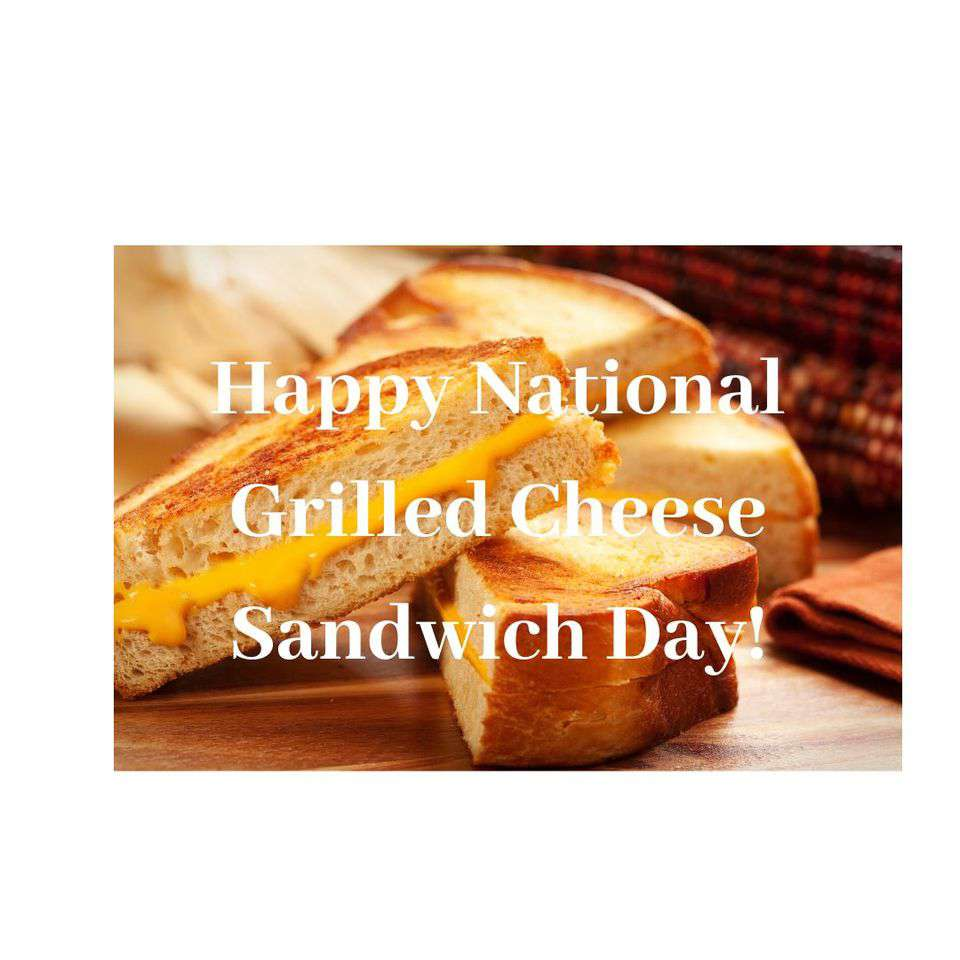 National Grilled Cheese Sandwich Day Wishes for Instagram