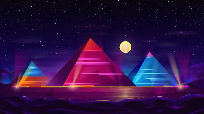 Papel de Parede Piramides hd