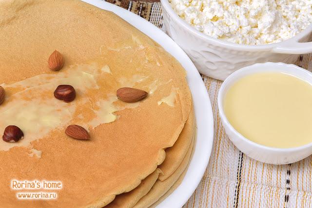 Белковые ПП-блины на овсяной муке: рецепт с молоком и яичными белками