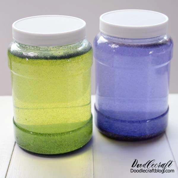Learn how to make a relaxing calming glitter jar for stress relief with just a few simple supplies.