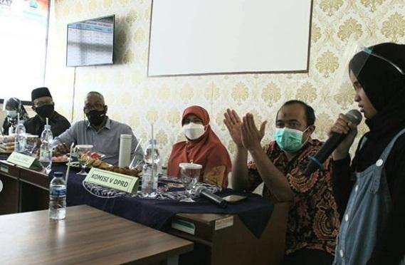 Komisi V DPRD Jabar Tinjau Fasilitas SLB Negeri Bandung Barat