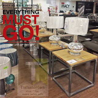 Macy Home Furnishings Moving Out Sale