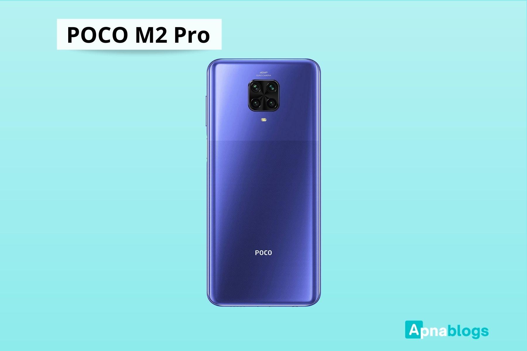 MI Poco M2 Pro