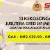 13 Jawatan Kosong Jurutera Gred J41 (Mekanikal). Gaji RM2,529.00 - RM9,643.00