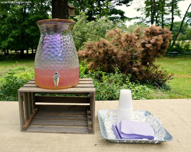 Limonada de Laromay Lavender Farm en Hollis, New Hampshire
