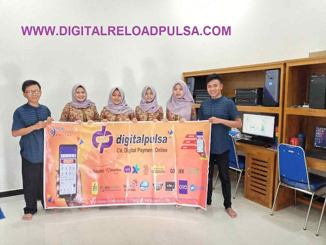 Tentang Digital Pulsa CV. Digital Payment Online