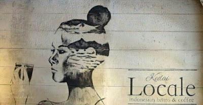 Mural Kedai Locale Kelapa Gading